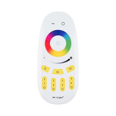 RF 4-pásmový ovládač RGBW LED pásikov MiLight