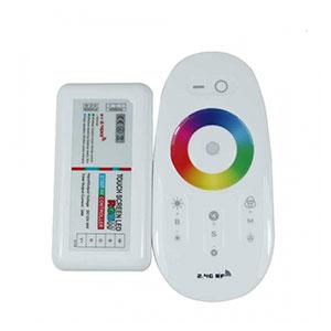 RF dotykový ovládač RGBW s diaľkovým ovládačom