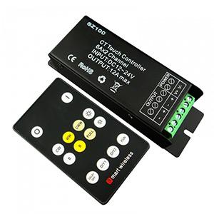 RF dotykový smievač Dual White + prijímač