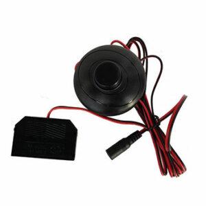 Pedálový, vypínač, s, konektorom, Jack, 2.5', 5.5' a, splitrom, pre, mini, klip, 1x6,