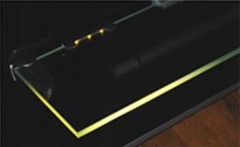 LED svetlo pre osvetlenie sklenených políc 0.24W, 18lm, teplá biela