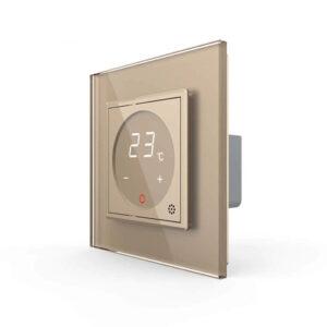 LIVOLO VL-C701TM-13 digitálny termostat - Zlatý