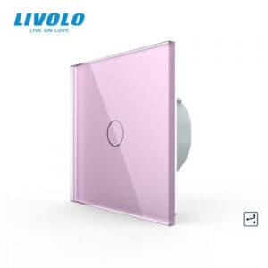 LIVOLO VL-C701SS-17 Dotykový vypínač č.7 - Ružový