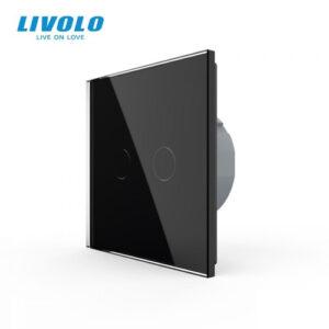 LIVOLO VL-C702-12 Dotykový vypínač č.5 - Čierny