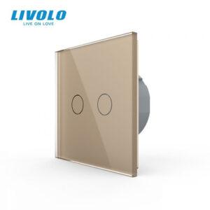 LIVOLO VL-C702-13 Dotykový vypínač č.5 - Zlatý