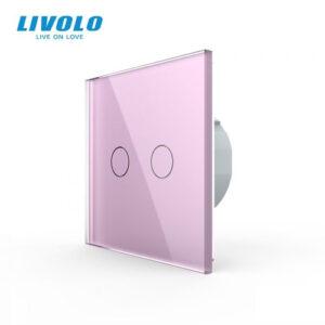 LIVOLO VL-C702-17 Dotykový vypínač č.5 - Ružový