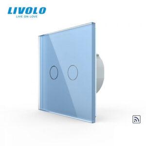 LIVOLO VL-C702R-19 Dotykový vypínač č.5 + RF - Modrý