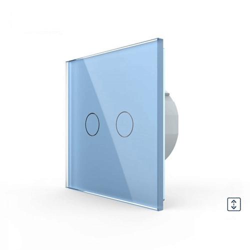 LIVOLO VL-C702W-19 Žalúziový ovládač - Modrý