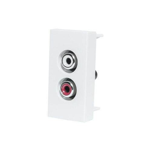 Audio konektor | Biely