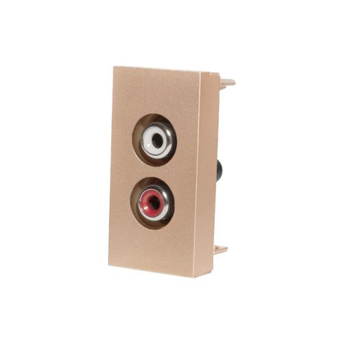 Audio konektor | Zlatý