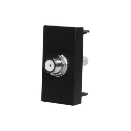 SAT konektor polmodul | Čierny