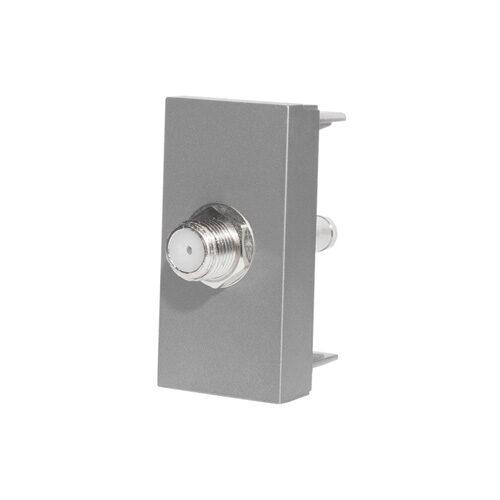 SAT konektor polmodul | Strieborný