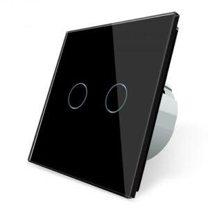 Dotykový vypínač č.5 | Čierny |