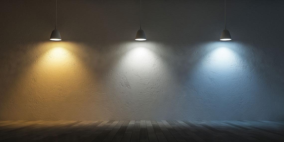 Osvetlenie podľa farieb