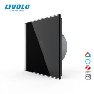 LIVOLO VL-C701SZ-12 ZigBee bezdrôtový vypínač č.6 - Čierny