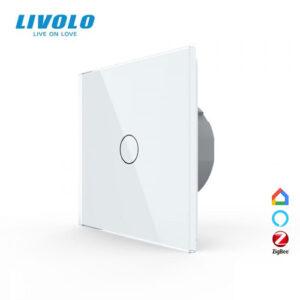 LIVOLO VL-C701Z-11 ZigBee bezdrôtový vypínač č.1 - Biely