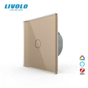 LIVOLO VL-C701Z-13 ZigBee bezdrôtový vypínač č.1 - Zlatý
