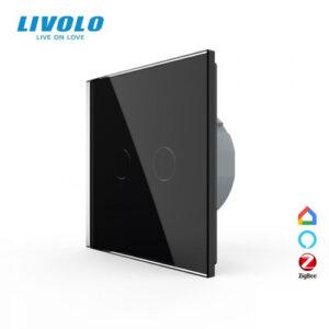 LIVOLO VL-C702Z-12 ZigBee bezdrôtový vypínač č.5 - Čierny