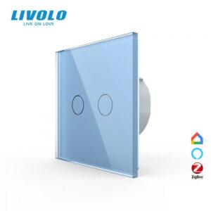 LIVOLO VL-C702Z-17 ZigBee bezdrôtový vypínač č.5 - Modrý