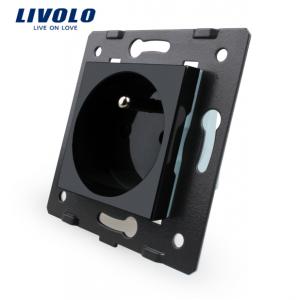LIVOLO VL-C7-C1FR-12 zásuvka FR│Čierny modul 230V