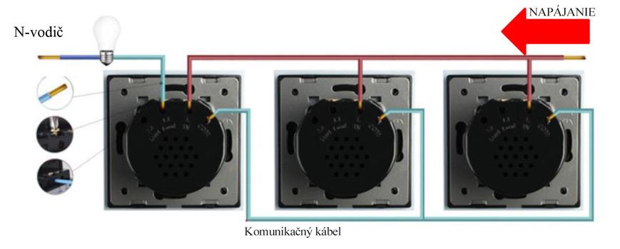 Schéme zapojenia LIVOLO VL-C701SS