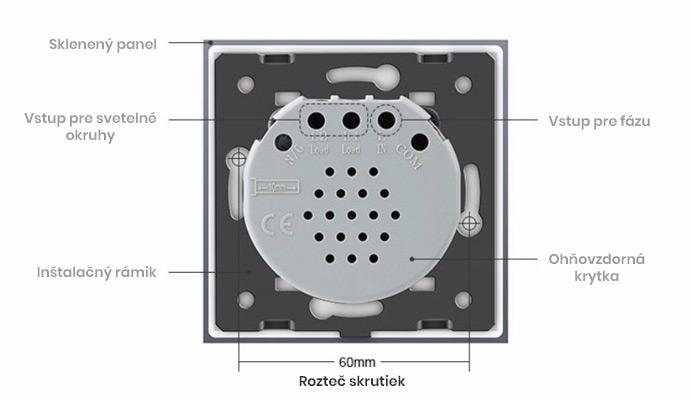 Ako funguje dotykový vypínač Livolo