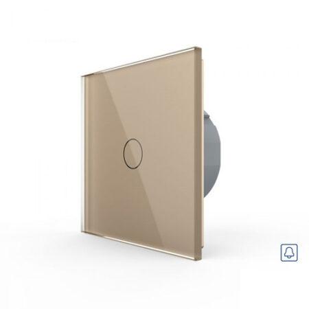 LIVOLO VL-C701H-13 Zvončekové tlačidlo č.1/0 - Zlaté