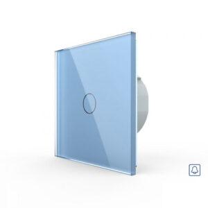LIVOLO VL-C701H-19 Zvončekové tlačidlo č.1/0 - Modré