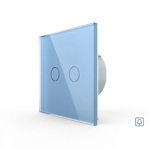 LIVOLO VL-C702H-19 Zvončekové tlačidlo č.2/0 - Modré